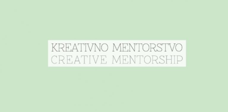 Kreativno mentorstvo
