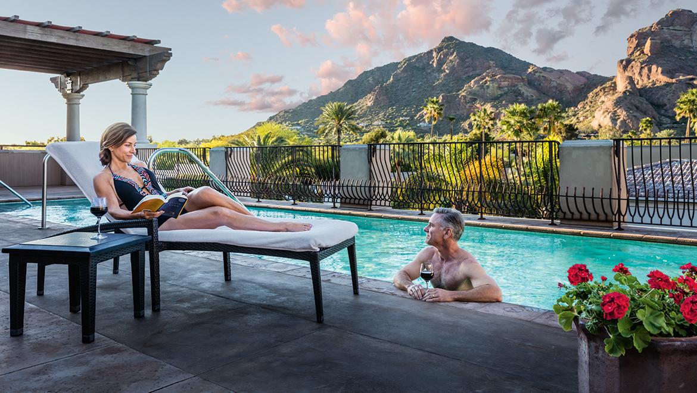 The Joya Terrace Pool at Montelucia Resort, Scottsdale, AZ